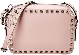 Valentino Rockstud Small Leather Camera Bag