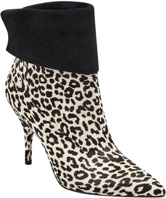 Marc Fisher Fifily Leopard Calf Hair Booties