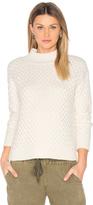 1 STATE Honeycomb Turtleneck Sweater