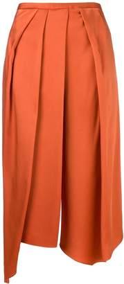 Chalayan cropped draped trousers