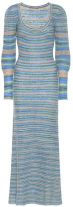 Jacquemus La Robe Perou mohair-blend midi dress