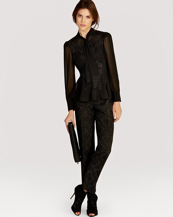 Karen Millen Blouse - Very Feminine Lace