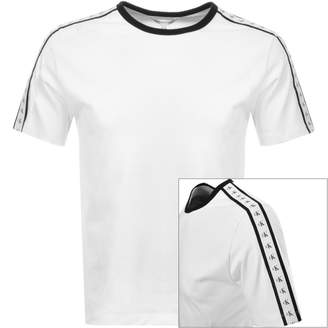 Calvin Klein Jeans Monogram Tape T Shirt White