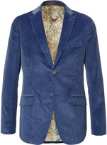 Etro - Slim-fit Cotton-corduroy Blazer