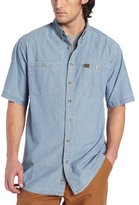 Wrangler RIGGS WORKWEAR Men's Big & Tall Chambray Work Shirt