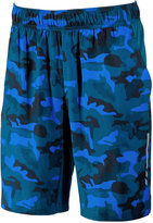 Blue Camo Shorts - ShopStyle