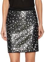 Love Moschino Sequin Short Skirt