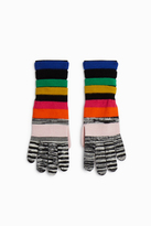 Missoni Striped Gloves