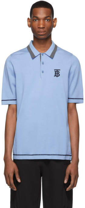 Burberry Blue Hadlow Polo