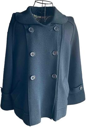 Jucca Black Wool Coats