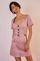 Finders Keepers VENICE MINI DRESS pink