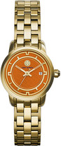 Tory Burch The Tory gold-toned stainless steel watch