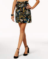 INC International Concepts Anna Sui Loves Printed Ottoman-Knit Mini Skirt, Created for Macy's