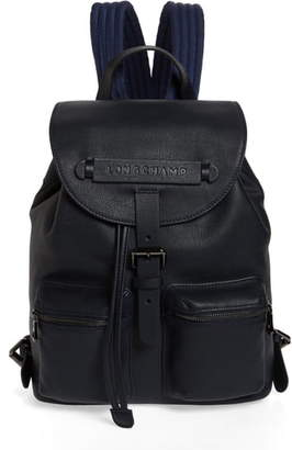 Longchamp Small 3D Leather Backpack