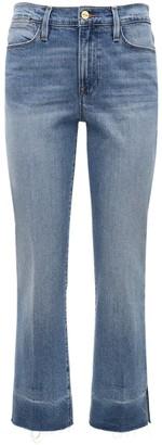 Frame Alwide Straight Cotton Denim Jeans