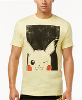 Bioworld Men's Pokémon Pikachu T-Shirt