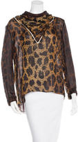 Tom Ford Silk Printed Top