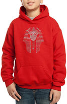 LOS ANGELES POP ART Los Angeles Pop Art Names Of Different Egyptian Gods Hoodie-Big Kid Boys
