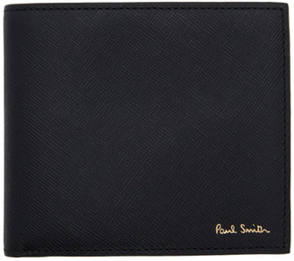 Paul Smith Black Mini Kings Cross Bifold Wallet