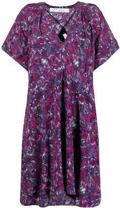 IRO Abstract-Print Shift Dress