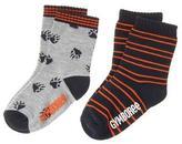 Gymboree Paws& Stripe Socks
