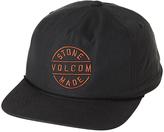 Volcom Boys Sceptor Snapback Cap Black