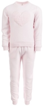 Ideology Toddler Girls Fleece Top & Pants Set, Created for Macy's