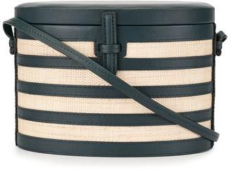 Hunting Season Straw Box Crossbody Bag
