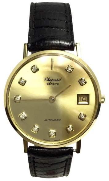 Chopard 18K Yellow Gold Automatic 33mm Unisex Watch