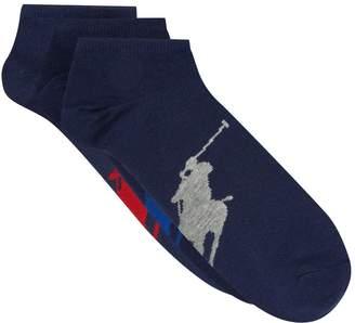 Polo Ralph Lauren Logo Socks (Pack of 3)