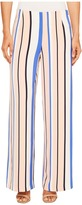 Romeo & Juliet Couture Multicolor Stripe Wide Pants