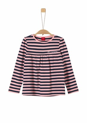 S'Oliver Girl's 53.911.31.7626 Long Sleeve Top