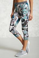 Forever 21 FOREVER 21+ Active Abstract Capri Leggings