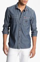 Diesel 'Stepy' Chambray Cotton Shirt