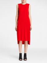 DKNY Sleeveless Matte Jersey Dress