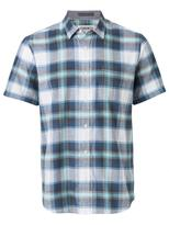 Jeanswest Russell Short Sleeve Check Shirt-Mineral Red Multi-S