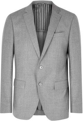 BOSS Hartlay Light Grey Wool Blazer