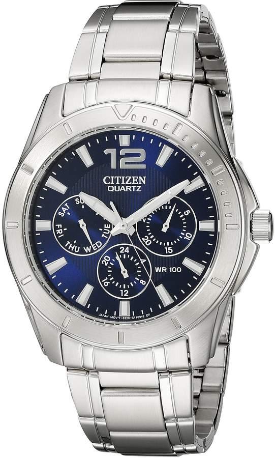 Citizen Men's AG8300-52L Analog Display Japanese Quartz Watch