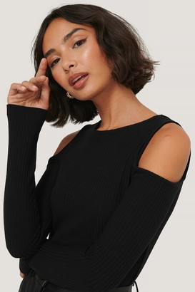 NA-KD Cut Out Shoulder Top