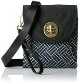 Baggallini Gold International Athens Rfid Crossbody Wallet