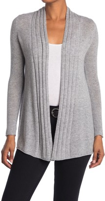 Kinross Ribbed Pattern Cashmere Cardigan
