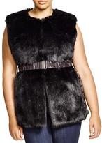 Marina Rinaldi Plus Faux Fur Vest