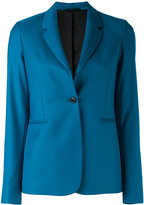 Paul Smith single button blazer - women - Cupro/Wool - 44
