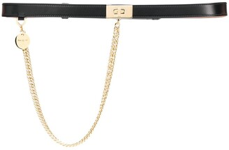 Givenchy Chain Detail Belt