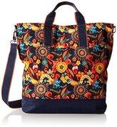 Hadaki Nylon French Market Tote Bag