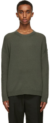 Valentino Green Cashmere Sweater