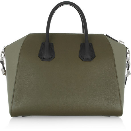 Givenchy Medium Antigona bag in color-block leather