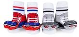 Infant Waddle & Friends 2-Pack Skateboard Rattle Socks