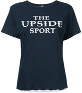The Upside logo print T-shirt - women - Cotton - XXS