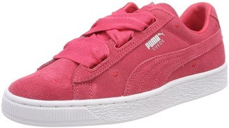 Puma Girls Suede Heart Jr 365135-01 Low-Top Sneakers